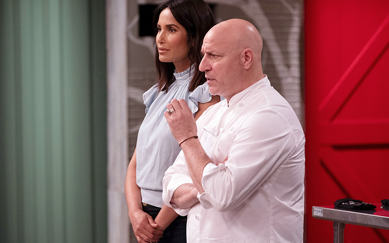 Padma Lakshmi, Tom Colicchio, Top Chef Kentucky