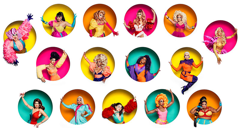 RuPaul's Drag Race season 11 cast