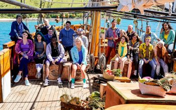 Survivor: Edge of Extinction's cast, and Probst's explanation of the twist