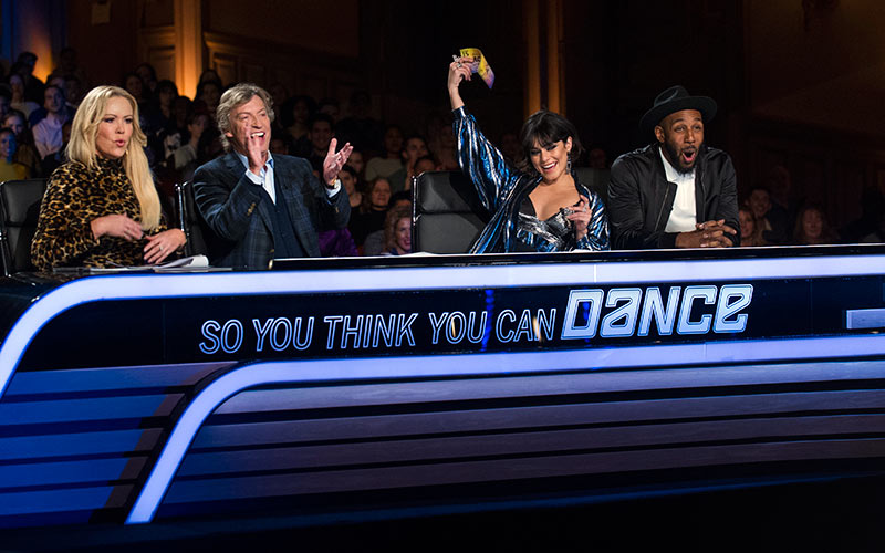 SYTYCD season 15 judges, Mary Murphy, Nigel Lythgoe, Vanessa Hudgens, Stephen 'tWitch' Boss