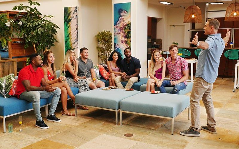 Temptation Island cast, host Mark L. Walberg, USA Network,