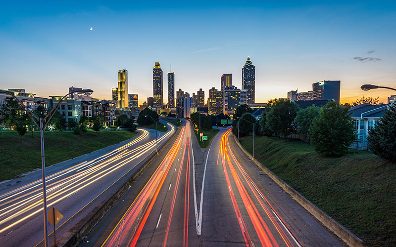 Atlanta, Jackson Street Bridge
