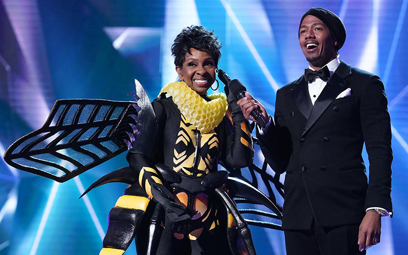 Bee, Gladys Knight, Nick Cannon, Masked Singer