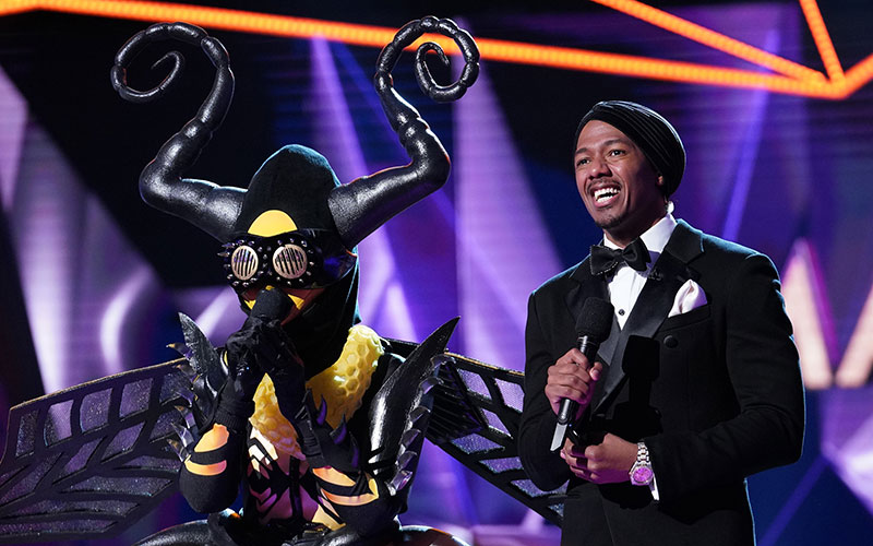 Bee, Nick Cannon, The Masked Singer