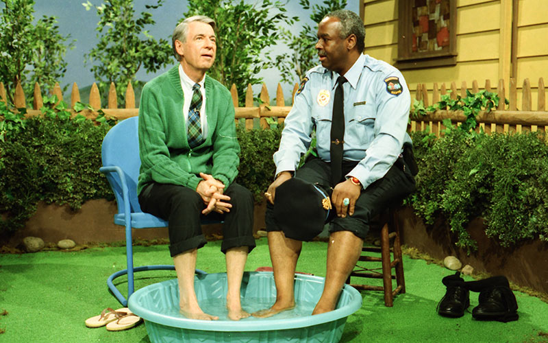 Fred Rogers, François Scarborough Clemmons, Mister Rogers Neighborhood