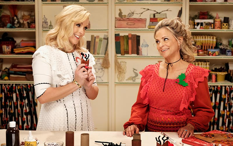 Jane Krakowski, Amy Sedaris, At Home with Amy Sedaris