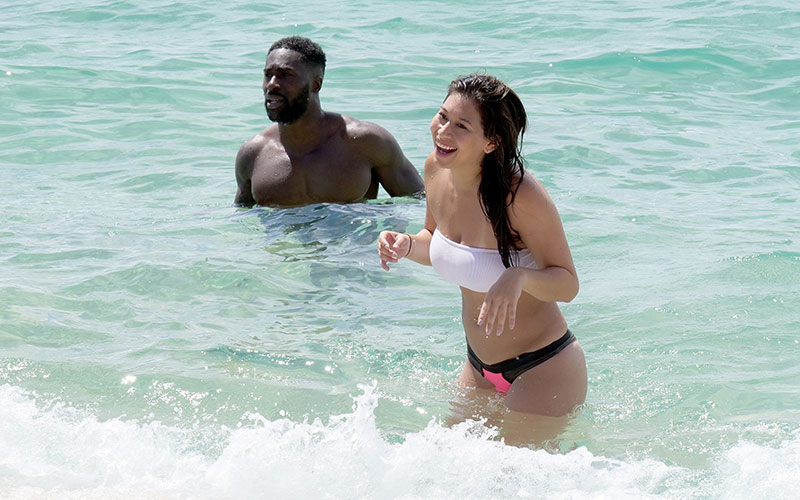 Javen Butler and Erica Steinhauer on Temptation Island episode 7