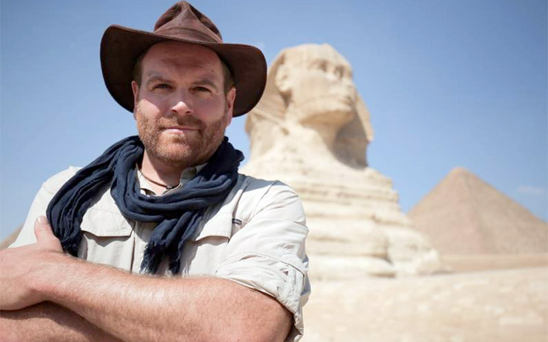 Josh Gates, Expedition Unknown: Egypt Live