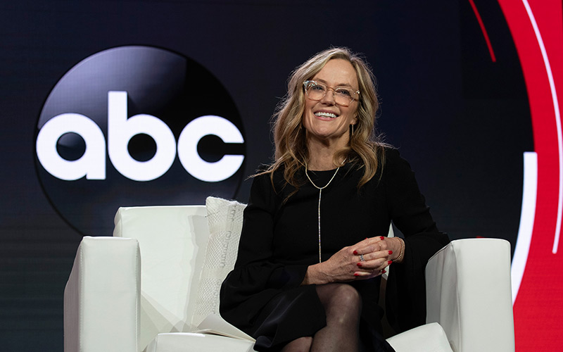 ABC Entertainment president Karey Burke at the Television Critics Association winter press tour 2019