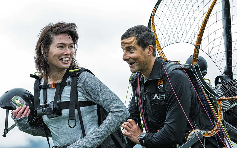 Lena Headey, Running Wild with Bear Grylls