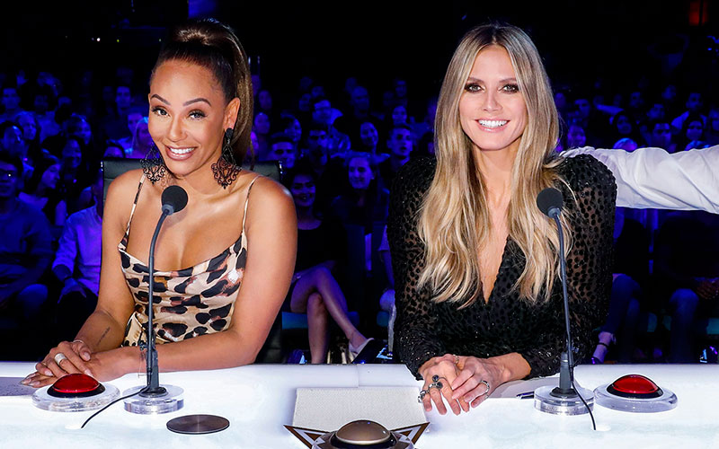Mel B, Heidi Klum, America's Got Talent