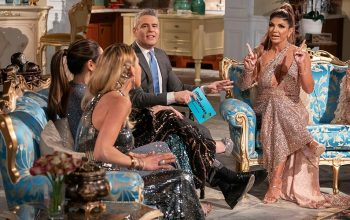 Andy Cohen, Teresa Giudice, Real Housewives of New Jersey season 9 reunion