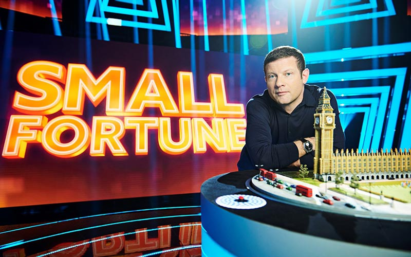 Small Fortune host Dermot O'Leary
