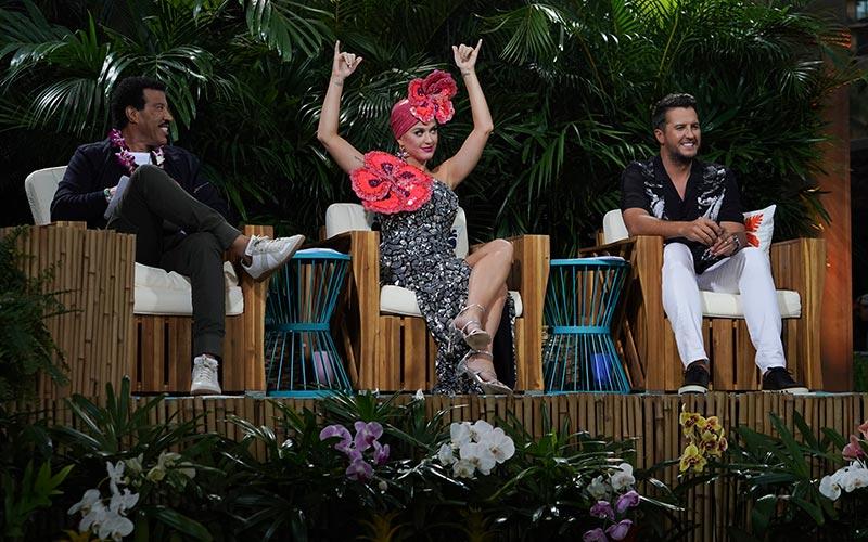 American Idol 17 judges, Aulani, top 20