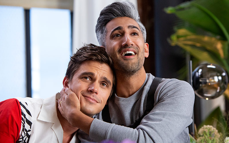 Antoni Porowski, Tan France, Queer Eye season 3