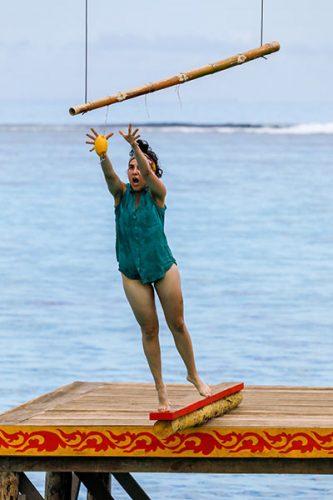 Aubry Bracco, Survivor: Edge of Extinction episode 3 immunity challenge