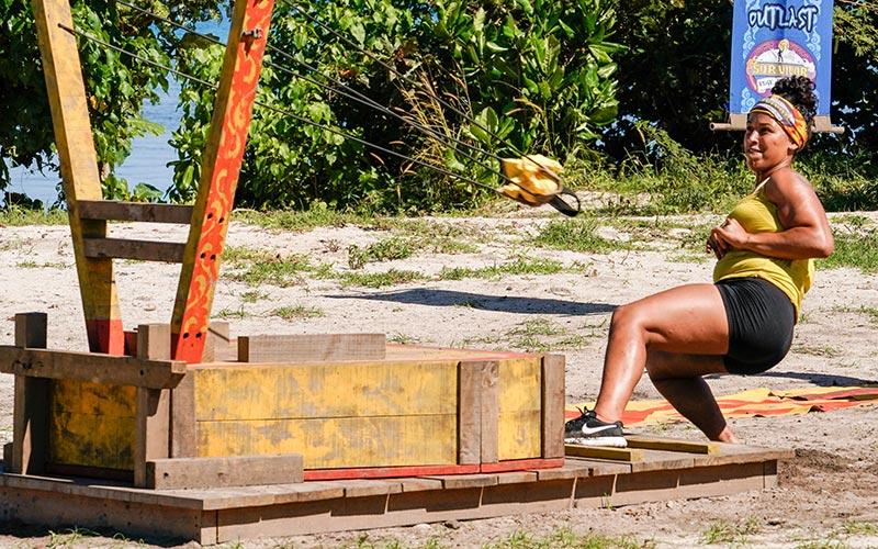 Julia Carter, Survivor: Edge of Extinction reward challenge
