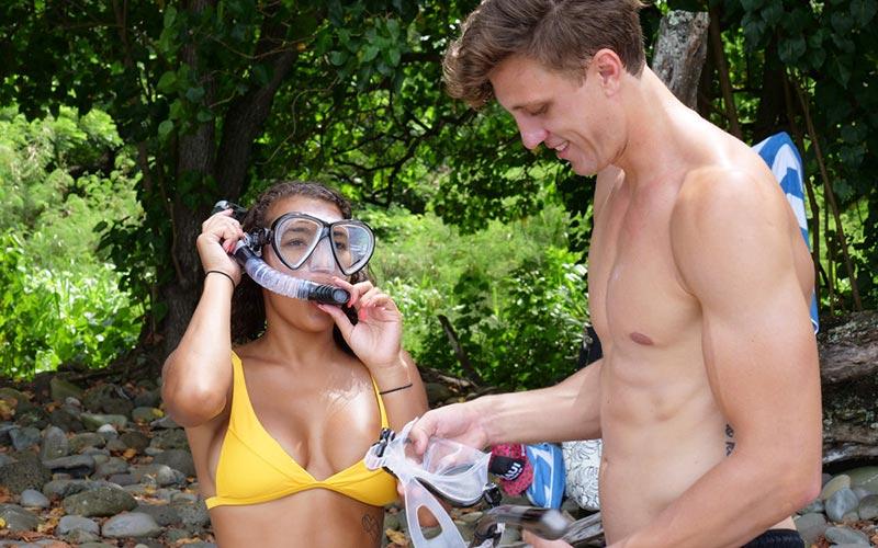 Morgan Lolar, Evan Smith, Temptation Island
