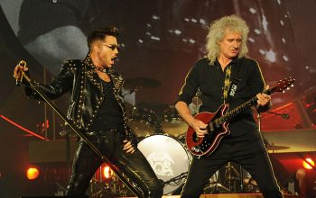 Adam Lambert, Brian May, Queen