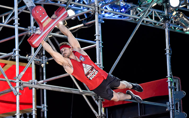 Adam Rayl, American Ninja Warrior All Stars