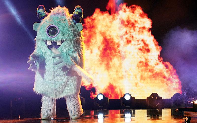 The Monster on The Masked Singer episode 3