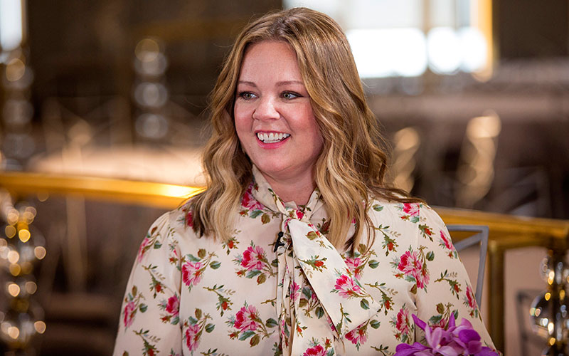 Melissa McCarthy on NBC's Sunday Today show