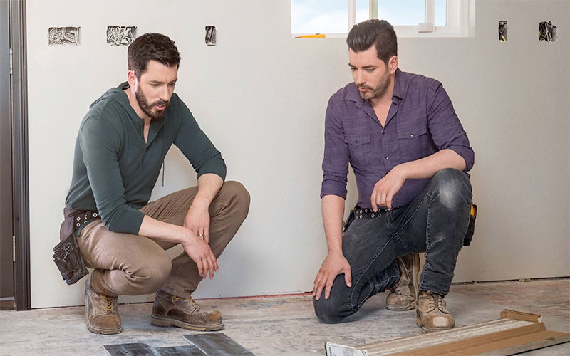 Drew and Jonathan Scott on their new series, Property Brothers: Forever Home, which moved to Discovery Plus