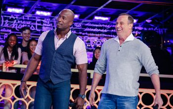 Akbar Gbajabiamila and Matt Iseman on Lip Sync Battle