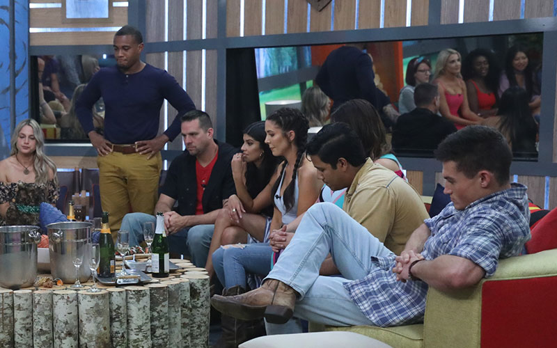 Big Brother 21 David, Jackson, and other houseguests