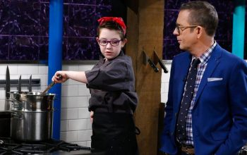 Chopped Junior Champions, Claire and Ted Allen