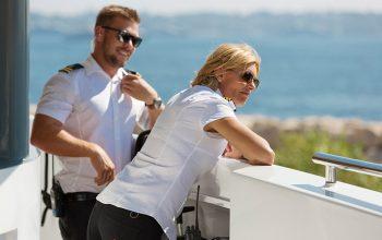 Below Deck Mediterranean crew members Joao Franco and Captain Sandy Yawn