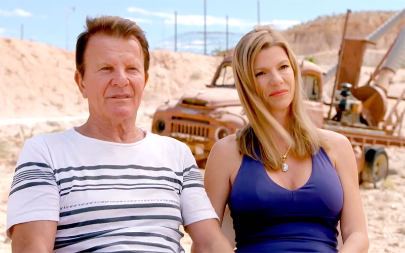 Gene and Sharon on Instant Hotel season 2