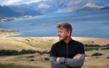 Gordon Ramsay in New Zealand on episode 2 of his National Geographic Channel series Gordon Ramsay: Uncharted