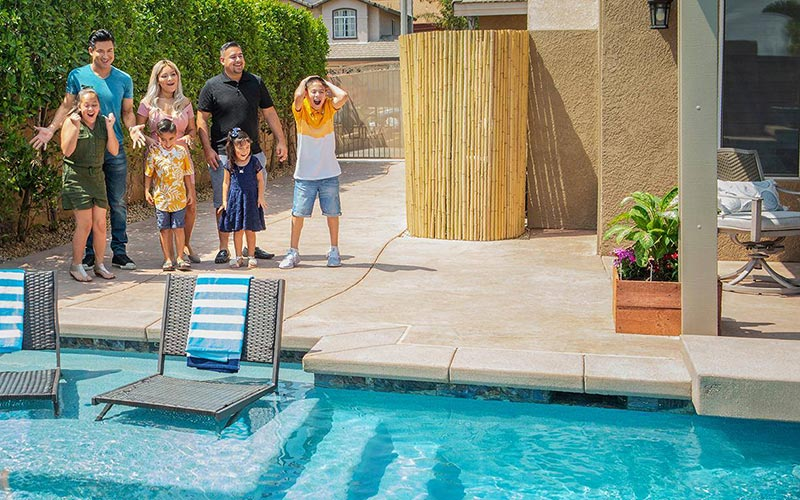 Mario Lopez surprises families with pool makeovers on HGTV's Supersize My Pool