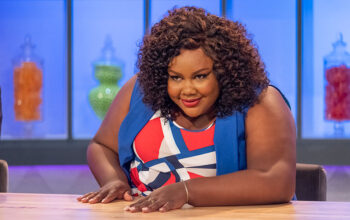 Nailed It! host Nicole Byer in season 3, episode 1