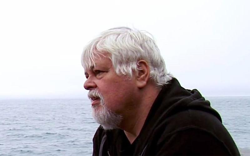Sea Shepherd founder Paul Watson on Whale Wars season 4, episode 3 (Image from Whale Wars)