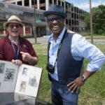 Thomas Allen Harris with Arthur Kirsh on the Detroit episode of Family Pictures USA
