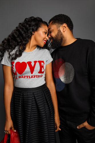 Codie and Tommy Oliver, the creators and producers of the OWN reality series Black Love