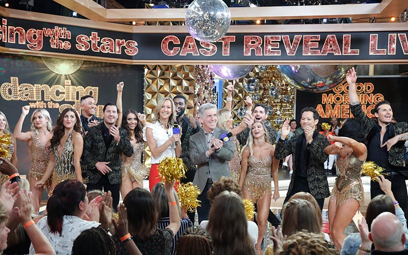 The Dancing with the Stars 28 cast reveal on Good Morning America