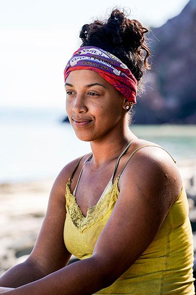 Julia Carter on Survivor Edge of Extinction episode 8