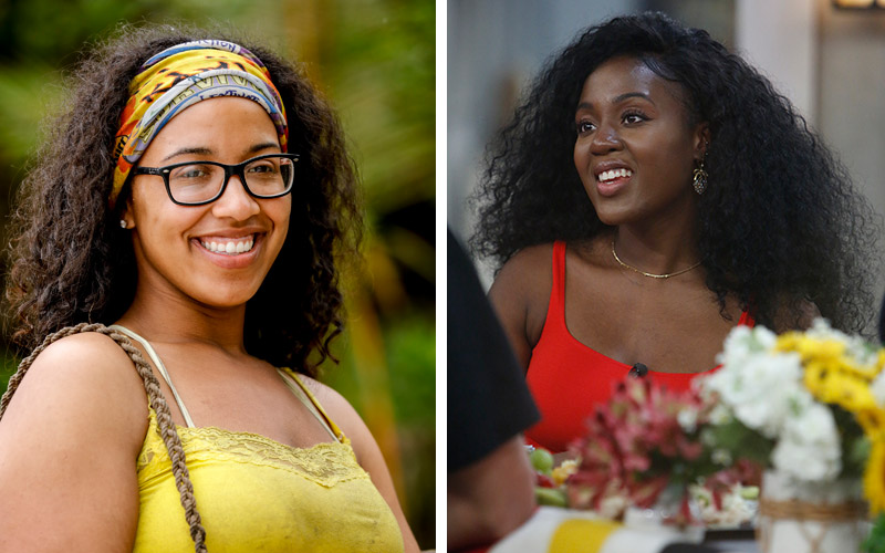 Survivor's Julia Carter and Big Brother's Kemi Fakunle separately raised concerns about CBS reality shows' reliance on racial stereotypes.