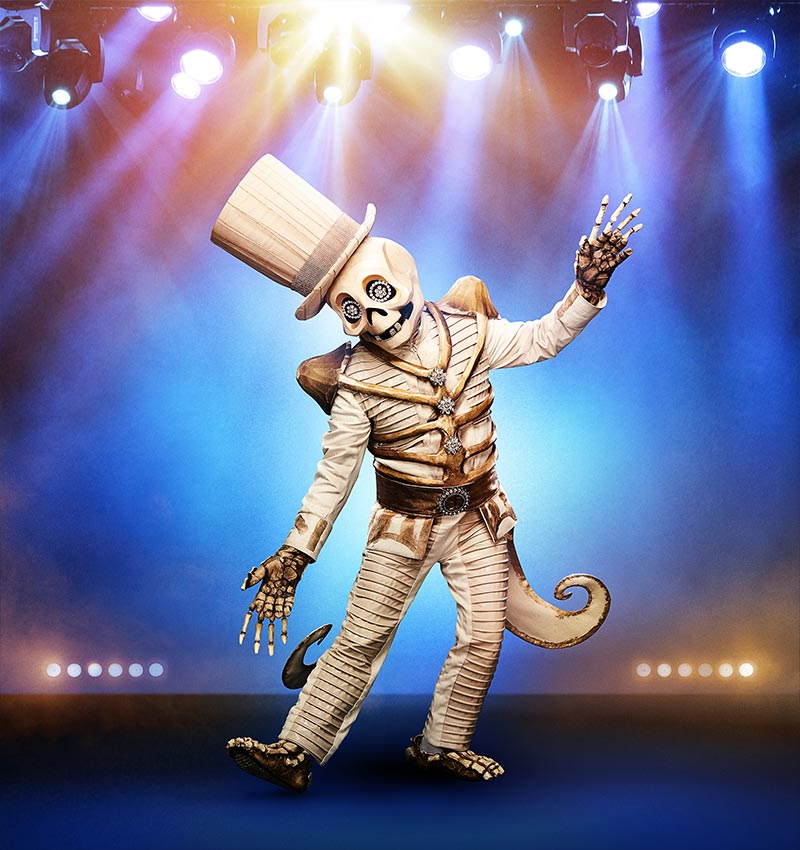 Skeleton on The Masked Singer season 2