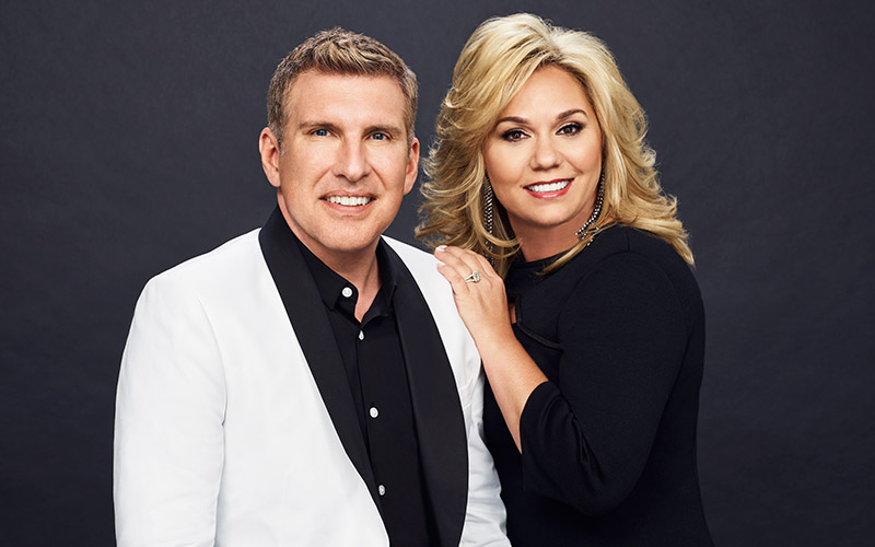 Todd and Julie Chrisley, photographed for season 4 of Chrisley Knows Best