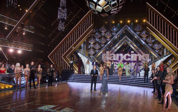Dancing with the Stars season 28's new set, which hosted a very familiar version of the ballroom dancing competition.