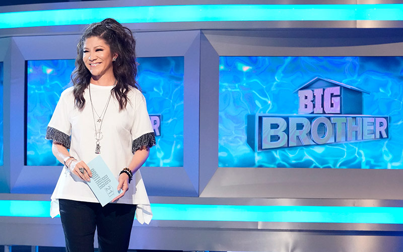 Julie Chen Moonves on Big Brother 21's eighth live eviction episode