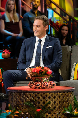 Bachelor season 24 star Peter Weber during the Bachelor in Paradise reunion