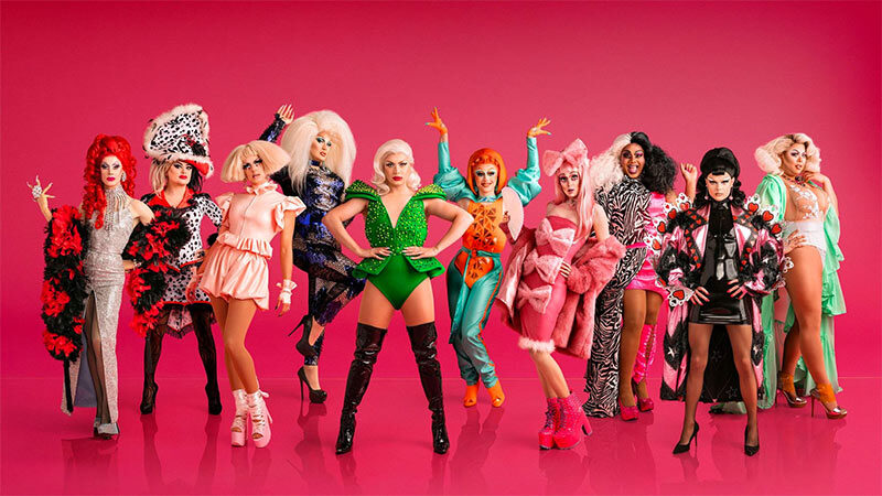 The 10 drag queens competing in the first season of RuPaul & # 39; s Drag Race UK