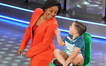 Tiffany Haddish, who's hosting the revival of Kids Say the Darndest Things, with Matthew