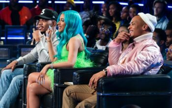 Rhythm + Flow judges Chance the Rapper, Cardi B, and T.I.