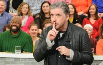 Craig Ferguson, the host of ABC's The Hustler, when he was on ABC's The Chew in 2017.